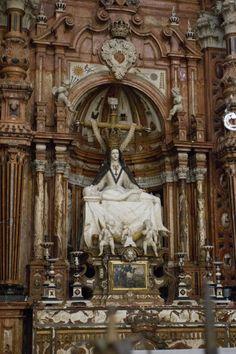 Virgin Blanca - Granada Cathedral - Spain
