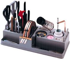 Glass Station Tool Organizer