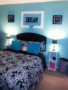 Bedroom makeover from preteen to young adult! DIY you can accomplish this in a weekend and I spent less than $200...