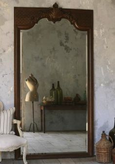 Antique Ballroom Mirror