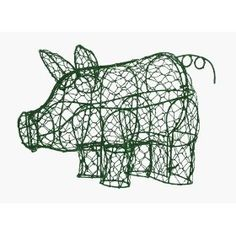 All things piggy! I NEED this for Daisy the Pig's outdoor playpen! Could grow her peas or some other veggie to munch on.