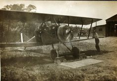 World War One Thomas Morse S-4 Bauslaugh Collection by San Diego Air & Space Museum Archives, via Flickr