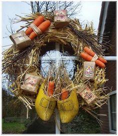 .Sinterklaas krans - Dutch wreath #decoratie