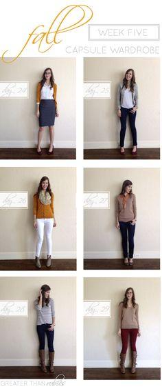Fall Capsule Wardrobe Week 5