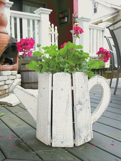 watercan planter