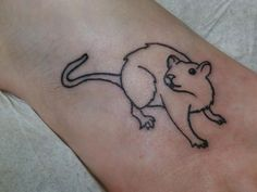 rat tattoo - Google Search