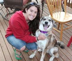 Woman Finds Dog After 8 Month Harrowing Search - Mary Wolfe spent 8 months trying to find her Husky-Australian Shepherd mix, Nahla. The dog was stolen September of last year when she stopped in Seattle to see some friends. It took help from an investigator to located Nahla and Ms Wolfe was reunited on June 3, 2013 with her dog. Nahla barked and yelped as she was happily reunited with her owner in police car.