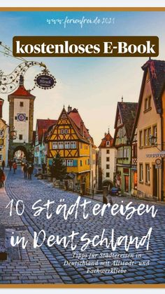 Romantic Getaways, Travel Guide, Germany, Movie Posters, Travel, Old Town, Vacation Places, Travel Report, Road Trip Destinations