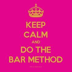 bar method......oh yes!!!!!