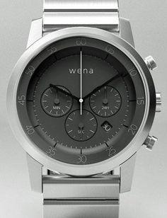 The Sony Wena Wrist smart watch
