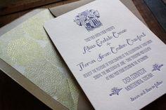 italian wedding invites @Jessica Guerrette