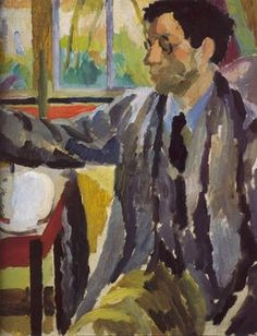 Duncan Grant Painting by Vanessa Bell, c. 1920.