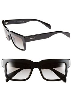 Prada 52mm Sunglasses available at #Nordstrom