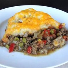 Zippy Shepherd's Pie Recipe - Yummy comfort food for cold weather. # ...