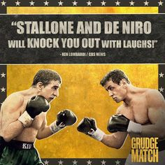 I had a scene with Stallone. Grudge Match, Sylvester Stallone, Cbs News, Classic Movies, Knock Knock, Vintage Posters, Movie Tv, Hollywood, Actors