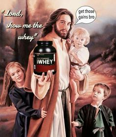 When Christian and gym memes collide #epic