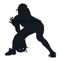 BUY 2 GET 1 FREE  Girls Softball Silhouette Machine Embroidery Design by 21Reasons, $2.95