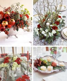 50 Easy Christmas Centerpiece Ideas for 2012