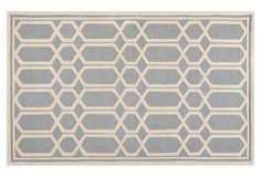 Add a plush feeling to your decor with this stylish Safavieh Cambridge wool rug. In silver/ivory. Principles Of Design, Patterned Carpet, Grey Fabric, Luxury Furniture, Rugs On Carpet, Carpets, Rug Size, Size 2, Metal