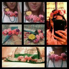 Hand made fresh flower jewellery by bridal flower jewellery