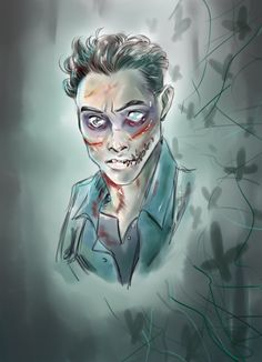 Wendigo Josh... Until Dawn Fanart.