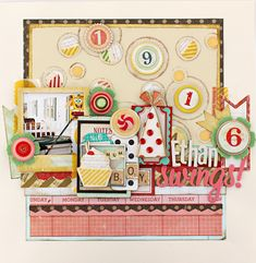 Lovely Inspiration created using our Party Day Collection #cratepaper #partyday #papercrafts