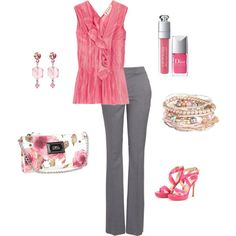 Tea Party, created by #lislyn on #polyvore. #fashion #style #Marni Jimmy Choo