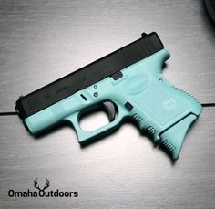 Glock 26 Gen 3 Tiffany Blue Black Edition 9mm 10 RDS 3.46″ Handgun - Omaha Outdoors