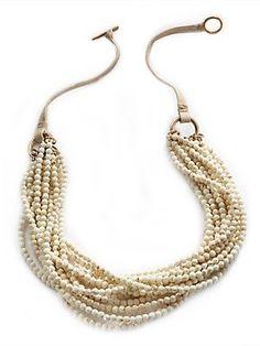brunello cucinelli jewelry | aria multi strand necklace by brunello cucinelli | Jewelry