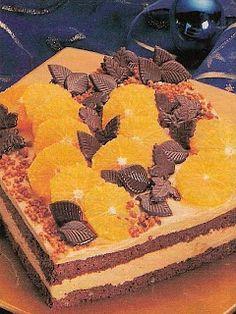 Hospodyně: Čokoládový dort s pomerančem