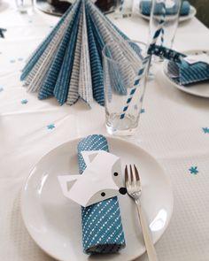 Serviettenringe und Tischdeko mit Polarfuchs, Eisbär und Co. für die perfekte Polar-Birthday-Party Clovers, Baby Shower, Birthday, Arctic Fox, Random Stuff, Simple Diy, Ice, Crafting, Kids