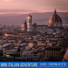 Tours starting at $710… Starts and ends in Rome a 5 Day adventure, including Tuscany & Venice! . . Ask for a quote now @touritalynow  #tuscany #assisi #venice #italytour #vacation #holidayinitaly #italygram #planning #springsummer2019 Italy Tour Packages, Italy Holidays, Italy Tours, Italy Travel, Empire State Building, Tuscany, Florence, Venice, Paris Skyline