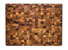 Rectangle End Grain With Hand Grips 24 X 18 X 1.5