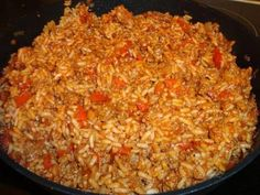 Wok, Fried Rice, Food And Drink, Lunch, Ethnic Recipes, Risotto, Le Creuset, Party, Rice