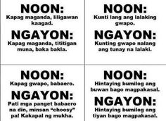 Collection of tagalog quotes images in collection) Pinoy Jokes Tagalog, Tagalog Quotes Patama, Bisaya Quotes, Tagalog Quotes Hugot Funny, Hugot Quotes, Life Quotes, Hugot Lines Tagalog Funny, Memes Pinoy, Qoutes
