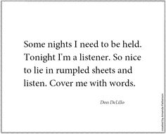 Quotable - Don DeLillo