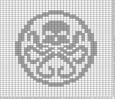 Tricksy Knitter Charts: HYDRA by Aziraphale