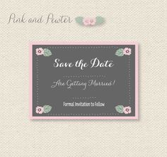 Download Free Printable Save The Dates