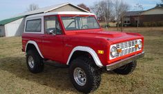 My dream weekend car: 1970 Ford Bronco. i will have one...period. I will be the crazy old lady driving the bronco. LOL
