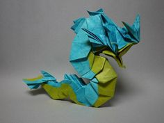 Origami Gyarados