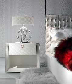 Luxury Nightstand | White design with the touch of luxury | www.bocadolobo.com | #design #luxury