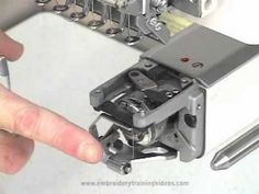 Cleaning the Rotary Hook on your Embroidery Machine