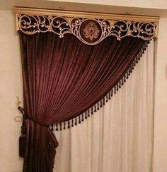 New living room luxury classic curtains Ideas Classic Curtains, Elegant Curtains, Modern Curtains, Custom Curtains, Decorative Curtains, New Living Room, Living Room Decor, Bedroom Decor, Hanging Curtains