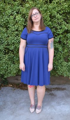 Suzy Bee Sews: Victory Pattern 1002: Hacked Ava dress