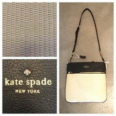 """The """"Ellen"""" purse by Kate Spade is the perfect bag for summer and goes with almost any outfit! It can be yours for only $218.99!"""