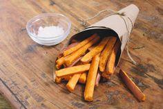 Healthy Sweet Potato Fries Recipe. #food #potatoes #fries