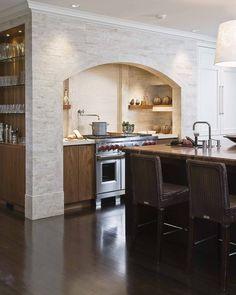 Lenox Street Kitchen - traditional - kitchen - boston - Venegas and Company