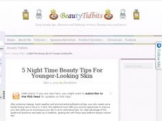 5 Night Time Beauty Tips for Younger-Looking Skin
