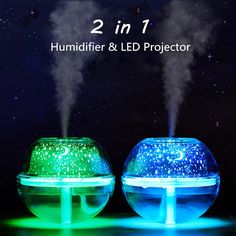 LED Ultrasonic Aroma Essential Diffuser Air Humidifier Purifier Aromatherapy New. Aroma Essential Oil, Essential Oil Diffuser, Humidifier Essential Oils, Usb, Led Night Light, Sky Night, Night Lights, Aroma Diffuser