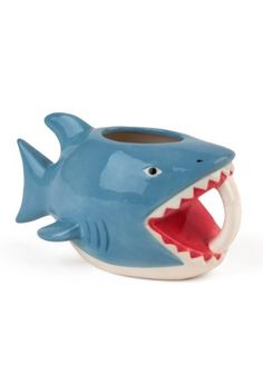 Shark Bite 16 oz Mug